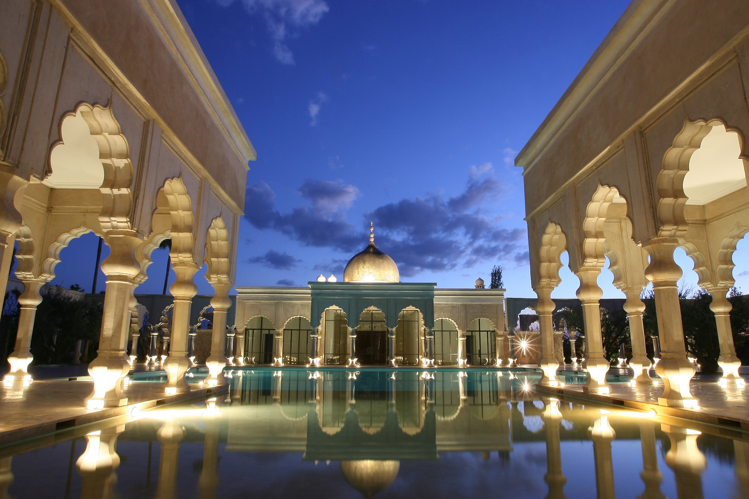 Luxury Hotel Palais Namaskar 5 stars Marrakech Morocco swimming pool