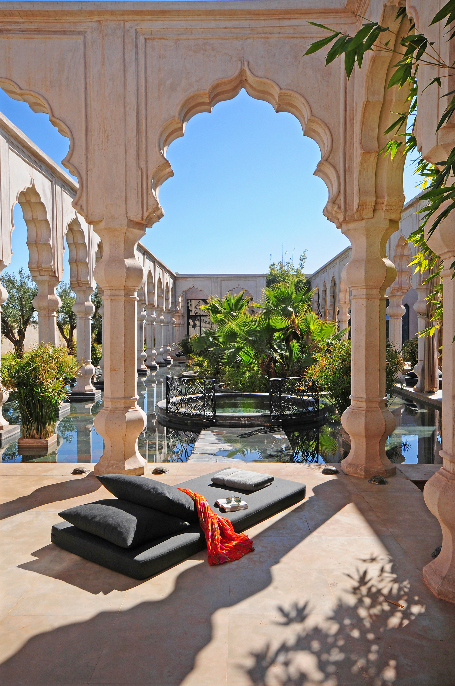 Luxury Hotel Palais Namaskar 5* Marrakech Morocco outside